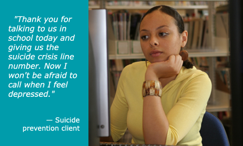 Suicide Prevention Client